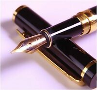 Dryden Luxury Fountain Pen [BLACK]  Modern Classic Limited Edition  Executive