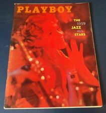 Playboy MAGAZINE - February, 1959  EXCELLENT CONDITION