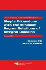 Simple Extensions with the Minimum Degree Relations of Integral Domains (Lecture