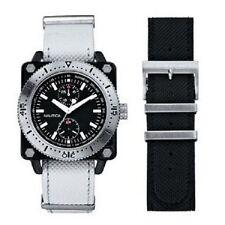 Cinturino Originale Pelle Nautica A22512G nero con Fibbia