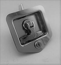 Folding T Handle Lock (1 OFF - STUD Fix) - Trailer Toolbox Truck Horse Float Ute