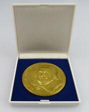 Medaille: Clara Zetkin 1957-1933, goldfarben, Orden1988