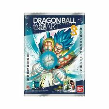 BANDAI Dragon Ball Shikishi ART 8 New Drawed Japanese Illustration 10 packs Box