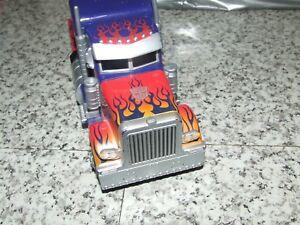 Transformers Optimus Prime Lorry Truck Cab  RC No Remote Robots 21cm Long
