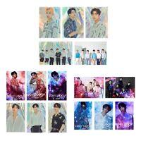 16PCS KPOP GOT7 Japan Tour [Our Loop] Fotokarten Kristallkartenaufkleber eoHpr