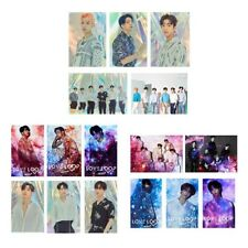 16PCS KPOP GOT7 Japan Tour 2019 [Our Loop] Photo Cards Crystal HD Card Stickers