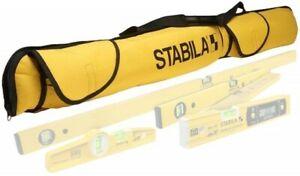 STABILA LCC-5 5-POCKET SPIRIT LEVEL PADDED CARRY BAG CASE – SUIT UP TO 1200mm