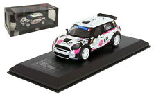 IXO Mini Cooper S2000 Tour De Corse Rally 2013 - Stephane Sarrazin 1/43 Scale