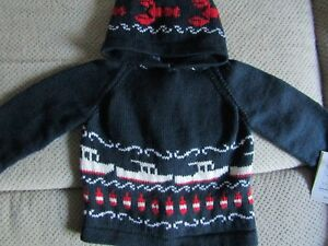 lobster seafood cotton  lobster boat buoy zip up the back child hoodie sweater