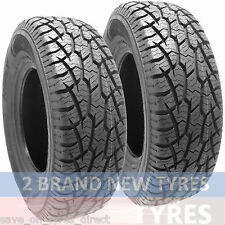 2 2456517 BUDGET 245 65 17 New Tyres x2 AT 245/65 R17 M&S 4x4 Car ALL TERRAIN