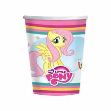 My Little Pony Vasos de Papel 266Ml Pack 8 Fiesta Cumpleaños Vajilla