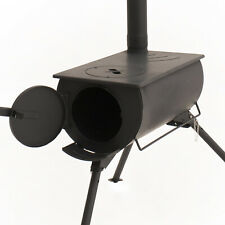 Adventure Kings Flue Damper Portable Camp Oven/Stove with Long Chimney