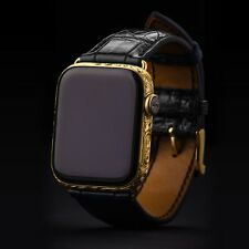 Apple Watch Series 5 44mm GPS+LTE Cellular with Sapphire Glass, 24K GoldPlated