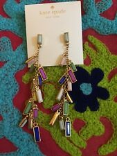 Kate Spade Statement Charming Chips Drop Earrings Cute for Gifts