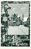 Ansichtskarte Zeutern Festtagsgrüße (Nr.758)