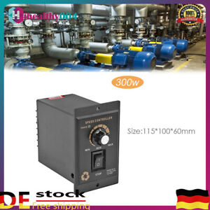 Motor Drehzahlregler 220V AC Elektromotor Speed Controller Schalter Modul 500W