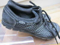 KEEN Women's Black/Silver  Mesh  Lace Up Flats Oxford Casual Sneakers Shoes Sz 7
