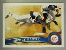2011 Topps #7 Mickey Mantle