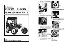 Neues AngebotReparaturhandbuch RS09 RS 09 GT124 GT122 GT 124 122 IFA Fortschritt DDR no RS08