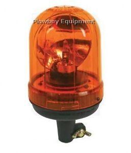 AMBER Rotating Beacon Light for Massey Case IH CAT JCB McCormick Deere Massey