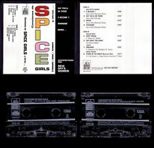 SPICE GIRLS - COVERS - SPAIN CASSETTE QUEMIK 1997 - NEW SEALED / NUEVO