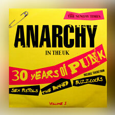 Sunday Times - Anarchy In The UK - 30 Years Of Punk - Volume 1 - music cd album