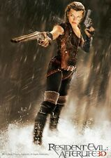 POSTER RESIDENT EVIL MILLA JOVOVICH 2 3 4 AFTER LIFE #3