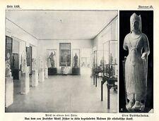 Prof. Adolf Fischer Köln Museum für ostasiatische Kunst Histor. Memorabile 1913