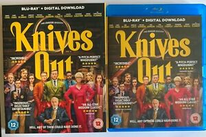 Knives Out (2019) Blu-ray - with slipcover