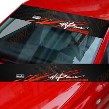 HKS Car Windshield Carbon Fiber Vinyl Decal Sticker Honda S2K EK EG DC2 5 Banner