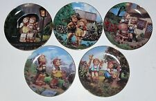 Hummel > M.I. Hummel Plate Collection > Lot Of Five(5) Collectible Plates s