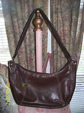 """Worthington Brown Leather Shoulder Bag  """" New w/o Tags """""""