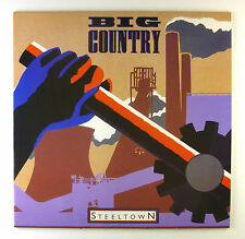 """12"""" LP - Big Country - Steeltown - C2338 - washed & cleaned"""