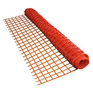 ALEKO Construction Multipurpose Safety Fence Barrier 4x200 ft PVC Mesh Net Guard