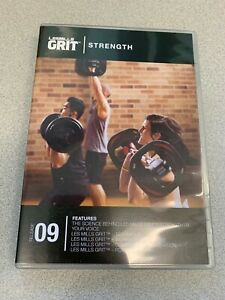 Les Mills GRIT STRENGTH 9 CD, DVD, Notes hiit training
