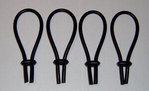 4 Schlingenelektroden aus Silikon TENS EMS ESTIM E-STIM EPLAY EROSTEK Reizstrom