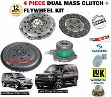 FOR LAND ROVER DISCOVERY 2.7TD 2004-> DUAL MASS FLYWHEEL + CLUTCH KIT + BEARING