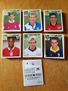 Merlin Premier League 95 Sticker Collection 1995: Pick From List: Nos 265 to 529