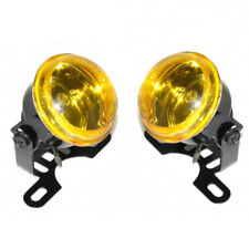 2x Yellow 12V Fog Spot Lights Lamps For Seat Cordoba Leon Altea Arosa Exeo Ibiza