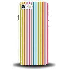 Colourful Stripes Phone Case Cover Multicoloured Multi Coloured Striped 279