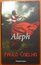 Aleph, Paulo Coelho, Círculo de Lectores, libro de tapa dura