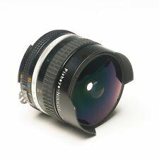 Nikon Nikkor 16mm f2.8 Fisheye ultra Wide Angle Manual Focus Prime Lens