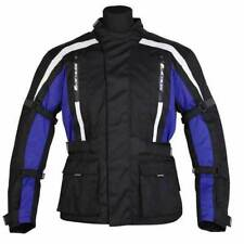 SPADA CORE MOTORCYCLE WATERPROOF & BREATHABLE BLACK / BLUE JACKET - MEDIUM M