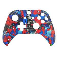 """Custom Xbox One S Controller """"Spiderman 2.0"""" Front Shell (Matte)"""