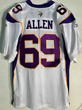 Reebok Authentic NFL Jersey Minnesota Vikings Allen White sz 48