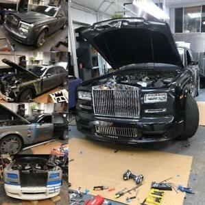 Rolls Royce Phantom conversion kit facelift Mansory