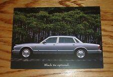 Original 1996 Jaguar XJ6 L Brochure Postcard 96
