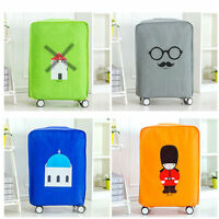 MUSTACHE GLASSES Travel Luggage Suitcase Protective Cover Handbag Pouch x 1