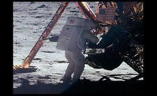 RARE Neil Armstrong Apollo 11 PHOTO,Only Moon Surface Photo Astronaut Lunar Walk