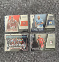 20/21 Panini Prizm Premier League Scorers Club Insert And Atmosphere Lot (4)
